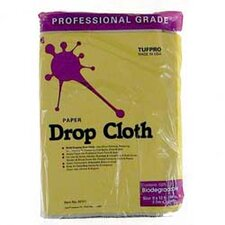 9' X 12' Professional Grade Paper Drop Cloth 02101