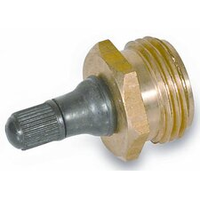 Brass RV Blow Out Plug