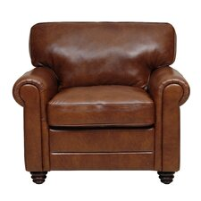 <strong>Luke Leather</strong> Andrew Italian Leather Chair