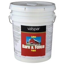 <strong>Valspar</strong> 5 Gallon Red Exterior Barn & Fence Latex Paint
