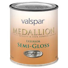 1 Quart Clear Base Medallion Exterior Latex House & Trim Paint Semi Gloss
