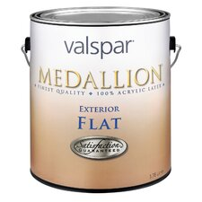 1 Quart Flat Tint Base Medallion Exterior Latex House Paint