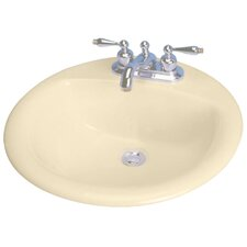 "19"" Reo Design Biscuit Bathroom Sink"