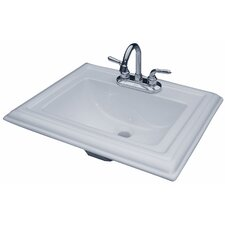 "22"" X 18"" Royal Drop In Bathroom Sink"