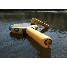 Bongo Water Bounce Platform-13' with Slide and Log