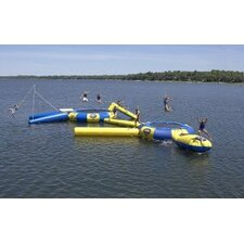Aqua Jump 200-Eclipse Trampoline with Launch and Log