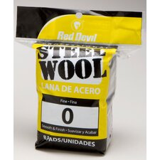8 Pack #0 Steel Wool 0323