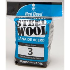 8 Pack #3 Steel Wool 0326