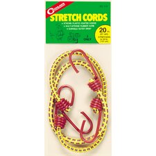 "<strong>Coghlans</strong> 20"" Stretch Cords (Set of 2)"