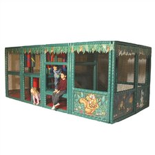 Tot Town Contained Play Jungle Playhouse