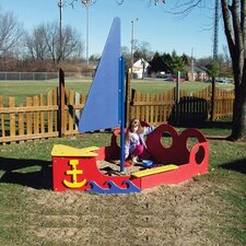 <strong>SportsPlay</strong> Tot Town Sailboat Sandbox