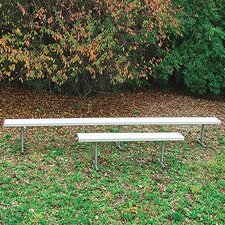 Permanent Metal Picnic Bench