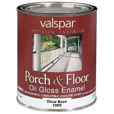 1 Quart Clear Base Porch & Floor Oil Enamel Paint 27-1005 QT