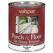 1 Quart Tint Base Porch & Floor Oil Enamel Paint 27-1002 QT