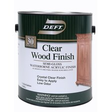 1 Gallon Semi Gloss Waterborne Clear Wood