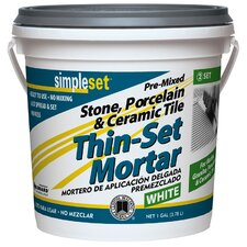 Pre-Mixed Tile & Stone Thin-Set Mortar
