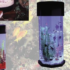 Aqua 10 Gallon Scape Octagon Aquarium Kit