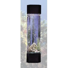 Aqua 30 Gallon Tower Pentagon Aquarium Kit