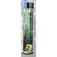 Aqua 55 Gallon Tower Octagon Aquarium Kit