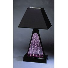 Pyramid Fountain Table Lamp