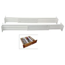 Spring Loaded Drawer Divider (Set of 2)