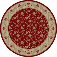 Imperial Charlemagne Red Serenity Area Rug