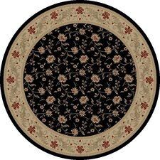 Imperial Charlemagne Black Serenity Area Rug