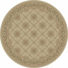 Charlemagne Aubusson Ivory Rug