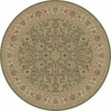 Imperial Charlemagne Heather Grey Bergama Area Rug