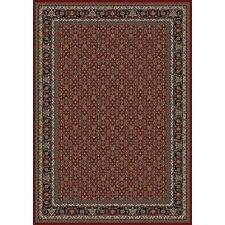 Oriental Classics Herati Red Area Rug
