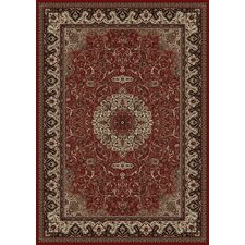 Oriental Classics Isfahan Red Rug