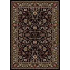 Oriental Classics Mahal Black Rug