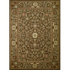 <strong>Concord Global Imports</strong> Arthur Flora Brown Rug