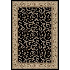 Gem Veronica Black Rug