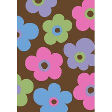 <strong>Concord Global Imports</strong> Alisa Ditsy Flowers Kids Rug