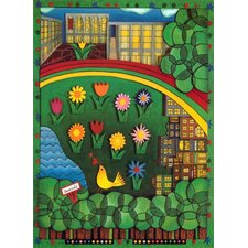 New York City Upper West Side Neighborhood Novelty Rug