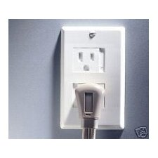 Home Safety Universal Outlet Cover in White