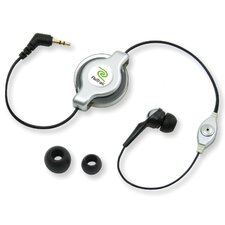 Retractable Earbud for Hands Free
