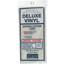Vinyl Deluxe Shower Curtain Liner