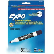 Dry Erase Board Color Marker (Pack of 8)
