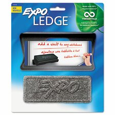 Ledge with Whiteboard Eraser