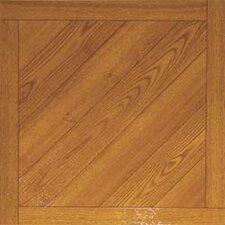 "16"" x 16"" Vinyl Tiles in Paramount Woodtone"
