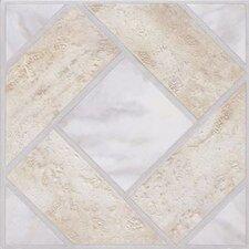 "12"" x 12"" Vinyl Tiles in Madison Stone/Marble"