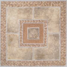 "<strong>Home Dynamix</strong> 12"" x 12"" Vinyl Tiles in Madison Stone/Marble"