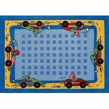 Kidz Image Race Car Kids Rug