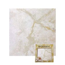 "12"" x 12"" Vinyl Tile in White Marble"