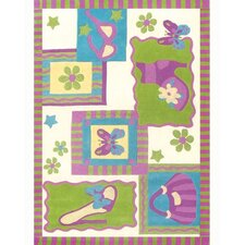 Kidz Image Shopping Lemon Lime Kids Rug