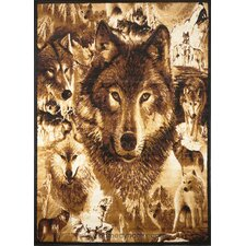 Zone Wolves Novelty Rug