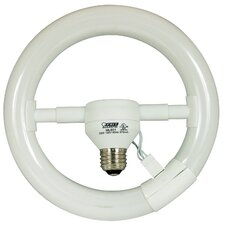 Compact Fluorescent Circular Light Bulb