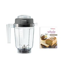<strong>Vita-Mix</strong> 32 oz. Dry Blade Container and Whole Grain Recipe Book